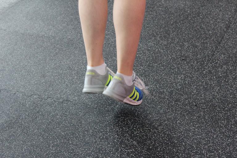 nohy - výskok