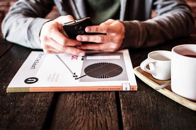každodenní využívání mobilního telefonu