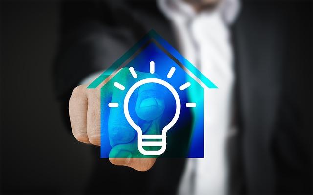 ovládání osvětlení domu
